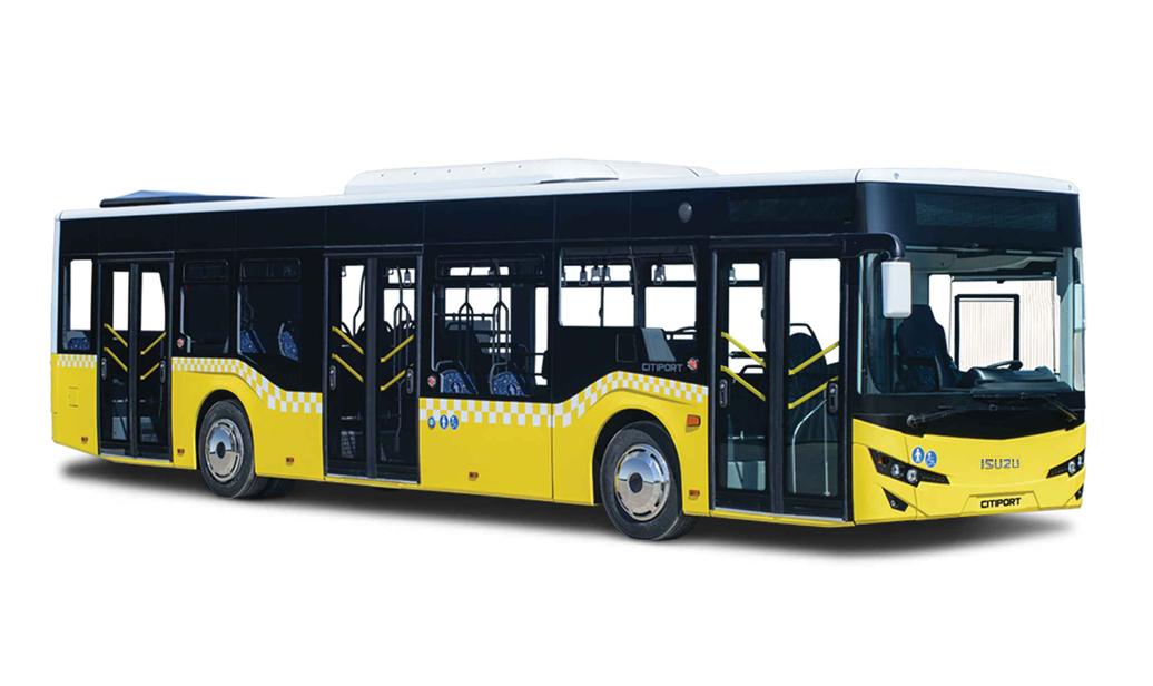 Isuzu Citiport Stadtbus 12 Meter  103 Fahrgästen  Omnicar GmbH