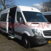 Minibus neuf Scolaire 22 ou 23 places porte coulissante électrique