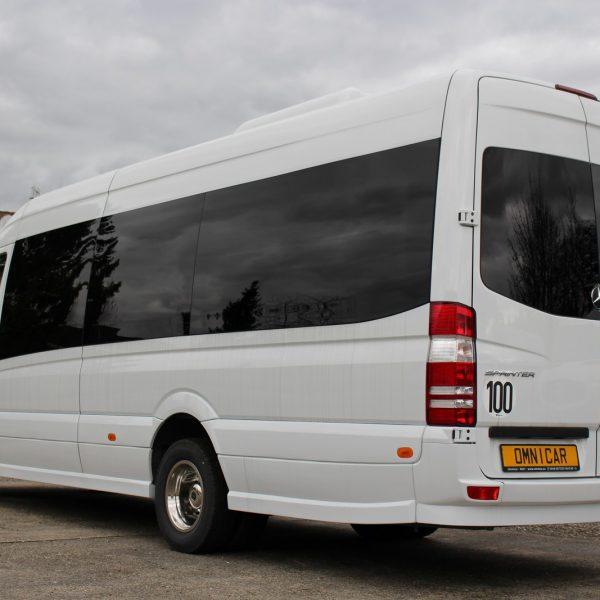 08 minibus mercedes sprinter tourisme 24 places extension de 40cm omnicar. Black Bedroom Furniture Sets. Home Design Ideas
