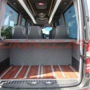 Minibus TPMR neufs équipements pour les personnes handicapées avec Rampe