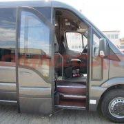 Véhicules TPMR Minibus neufs Rampe en aluminium ultraléger en deux parties Omnicar