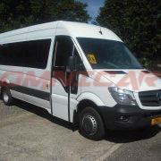 Minibus neuf Scolaire 22 ou 23 places porte louvoyante électrique