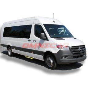 Minibus scolaire mixte Mercedes Sprinter 511-514-516 CDi 22+1 places climatisé