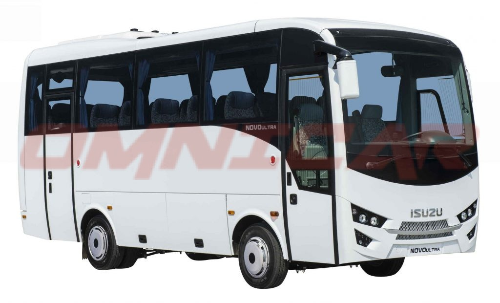 Midibusse 30 Sitze plus 4 Stehplätze ein Koncept von Isuzu-Midibussen immer auf Lager von Omnicar