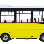 Heckniederflur Midibusse 7,5 Meter 58 Fahrgäste 25 Sitze + Rollstuhl