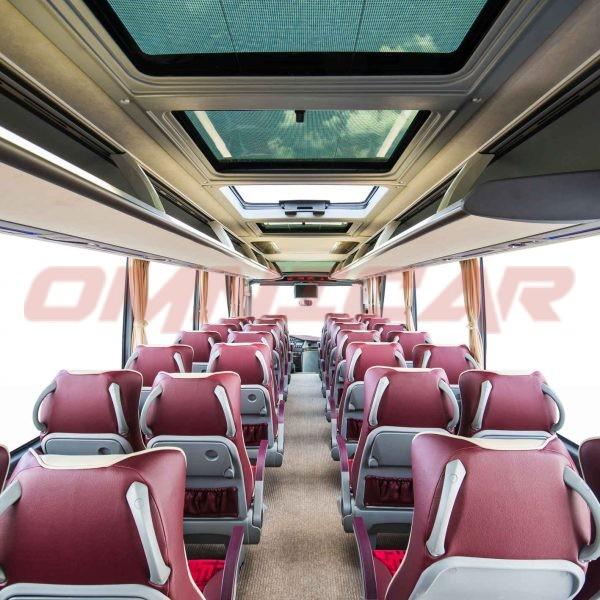 Midibus isuzu Visigo 40 Sitze Tourismus Version 4 Sterne 320PS omnicar