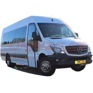 Minibus neuf version Mixte 22+1 places porte louvoyante