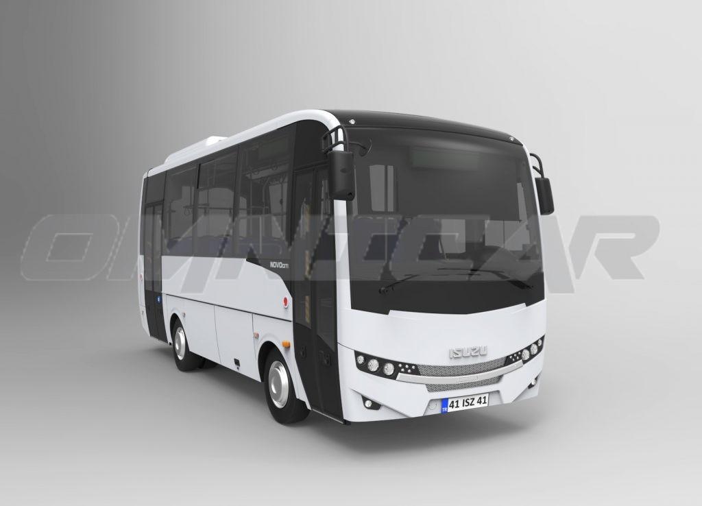 Isuzu Novo Citi Stadtbus Bis 54 Fahrgäste Heckniederflur