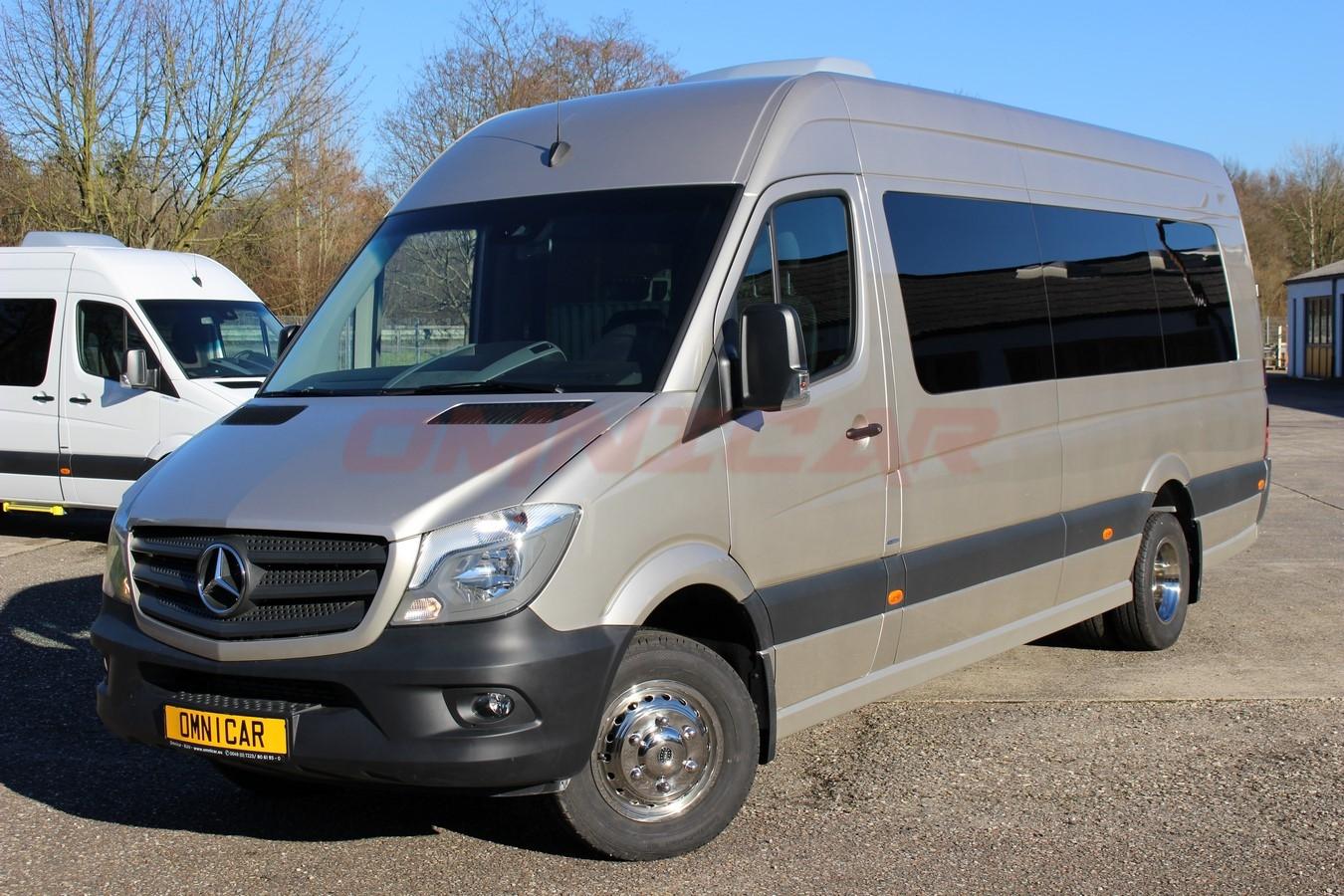 minibus mercedes sprinter neuf 516 cdi mix tourisme 22 1 places omnicar gmbh. Black Bedroom Furniture Sets. Home Design Ideas