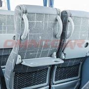 Neue Midibusse Omnicar GmbH Isuzu- bus Turquoise- 31+1+1