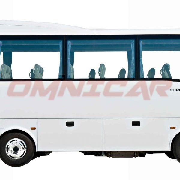 Neu Midibus Omnicar GmbH Isuzu-Bus Turquoise Midibus 33+1 Plätze