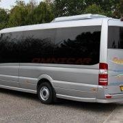 Omnicar sprinter 519-VIP Hayon arrière Extension du véhicule de 40cm Grand coffre (approfondi) Partition arrière