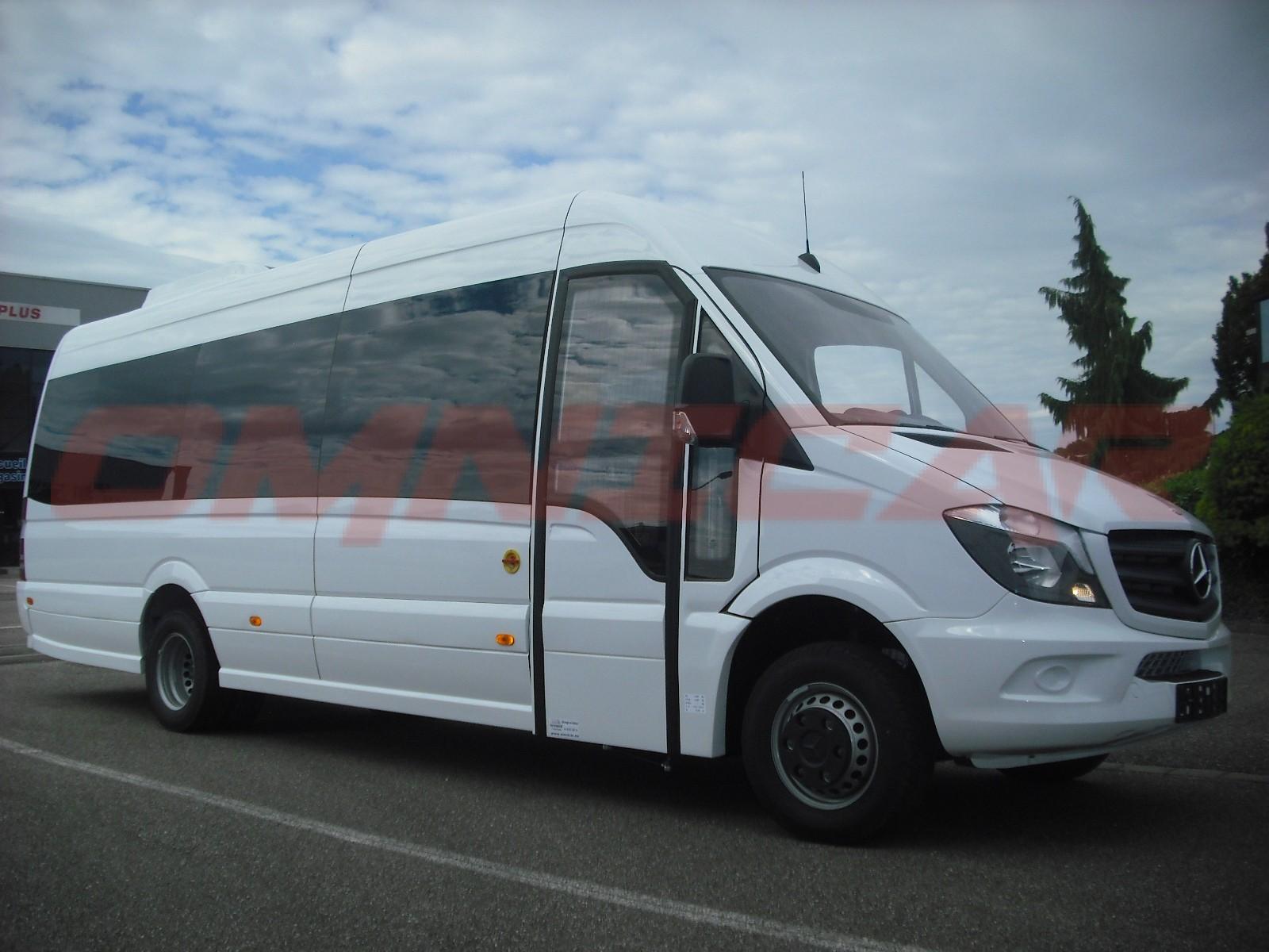 minibus sprinter 519cdi 19 places grande tourisme avec extension 40cm. Black Bedroom Furniture Sets. Home Design Ideas