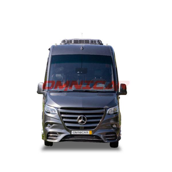 Minibus Neuf Mercedes Sprinter VIP 19+1+1 soute latérale et coffre arrière 519 automatique