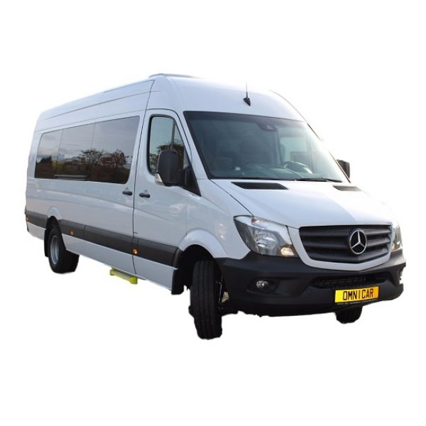 Minibus neuf Mercedes Sprinter 23 places Scolaire ou Mixte