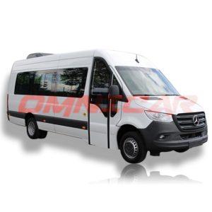 Minibus Kleinbus SPRINTER 516CDI Mixte 23 Plätze 22+Fahrer Omnicar GmbH