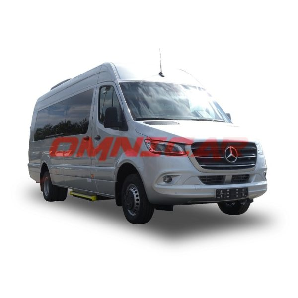 Minibus neuf mixte ou Scolaire 22 ou 23 places porte coulissante électrique 516-514-511 omnicar