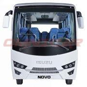 Isuzu Novo Ultra Interurban – 29 Sitzplätze + 4 Stehplätze omnicar