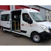 Minibus neuf Renault Master TBMR-UFR un ou deux chaise roulant L3-16+1 H (3)