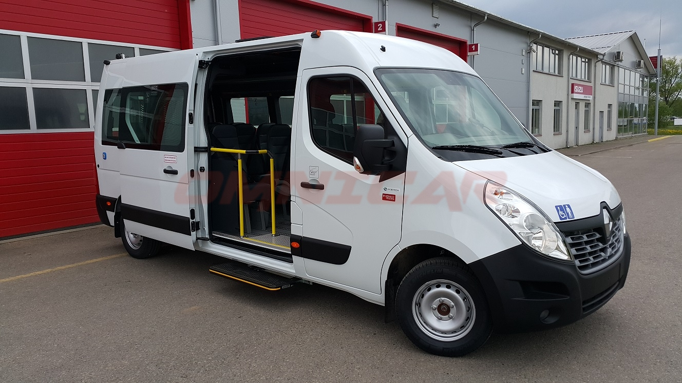 minibus neuf renault master tbmr ufr un ou deux chaise roulant version 15 1 1 l3h2 3 9 t. Black Bedroom Furniture Sets. Home Design Ideas
