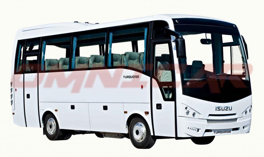 Midibusse 33 Sitze plus 6 Stehplätze ein Koncept von Isuzu-Midibussen immer auf Lager von Omnicar