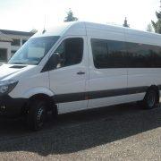Minibus Minicar Sprinter 22+1 scolaire avec porte vitrée