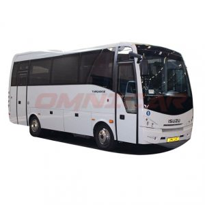Isuzu Bus neuer midibus turqouise 34 sitze omnicar GmbH