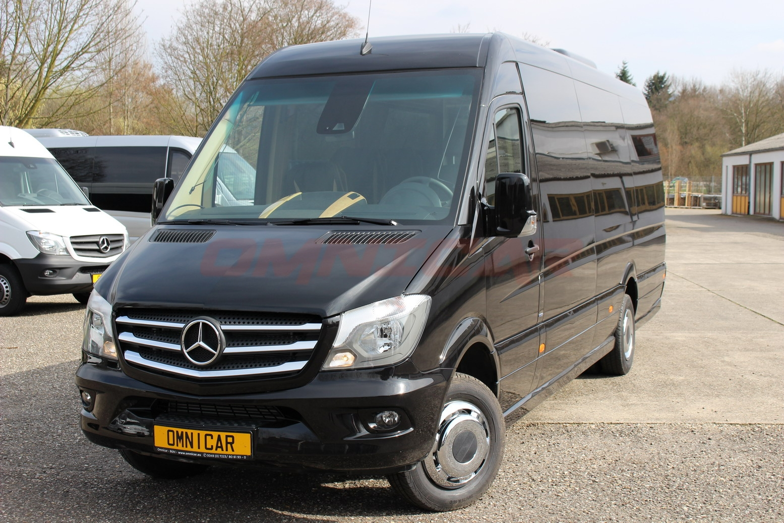 minibus neuf mercedes sprinter 519 cdi 19 1 1 places vip cuir omnicar gmbh. Black Bedroom Furniture Sets. Home Design Ideas