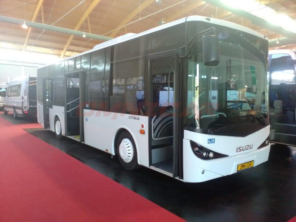 Omnicar und Isuzu Busse auf der RDA Messe in Köln 5-6 Juli 2017