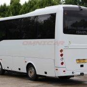 Midibusse Kleinbus Reisebus Isuzu Novo 27 Sitze 31 Passagiere Klima Omnicar