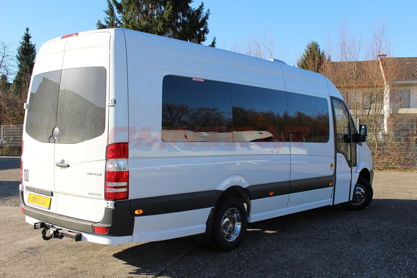 minibus mercedes sprinter neuf 516 cdi mix tourisme 22 1 places omnicar gmbh. Black Bedroom Furniture Sets. Home Design Ideas