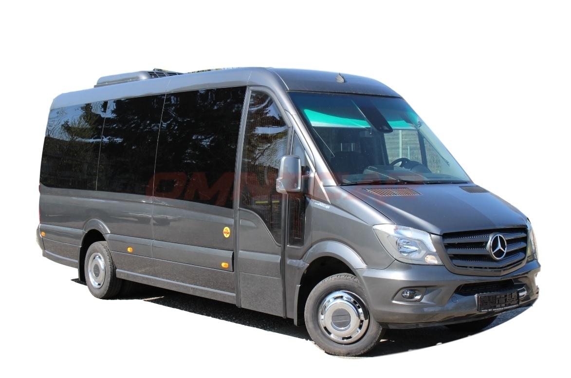 neuer kleinbus mercedes sprinter 519cdi tourismus luxus 21 sitze pl tze. Black Bedroom Furniture Sets. Home Design Ideas