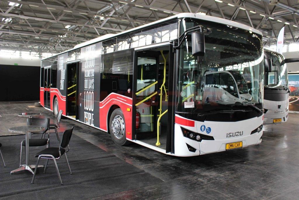 Isuzu Bus hersteller Omnicar Citiport Stadtbus RDA Köln 2017