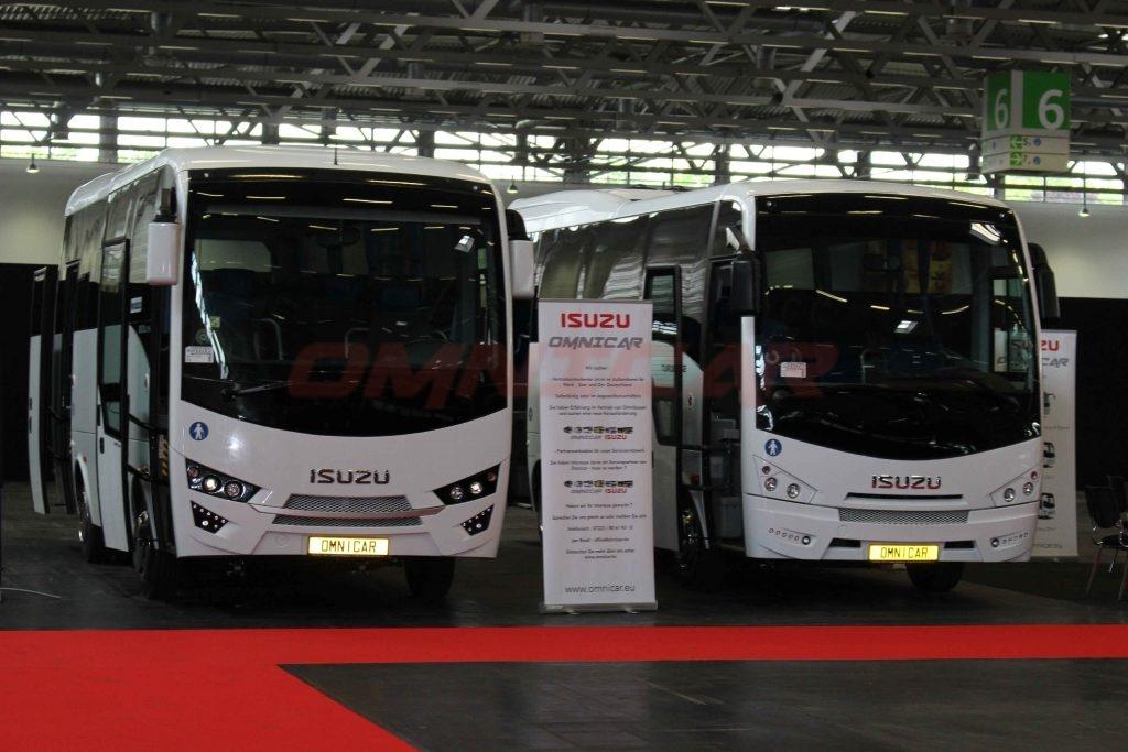 Isuzu Bus und Omnicar haben den Citiport Stadtbus auf der RDA Köln 2017 vorgestellt hersteller