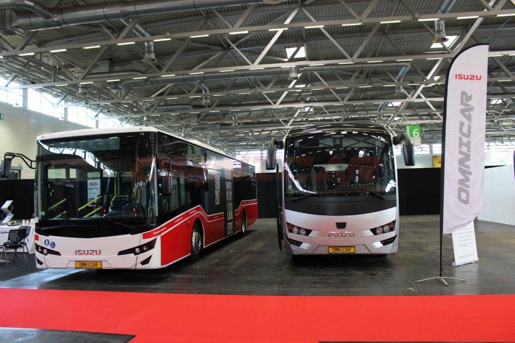 Isuzu Bus und Omnicar haben den Citiport Stadtbus auf der RDA Köln 2017 vorgestellt