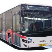 Neuer Stadtbus 12 Meter 102 Fahrgäste Isuzu Stadtbusse