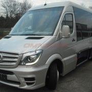Minibus Mercedes Sprinter 519 VIP 19+1+1 Places Soutes Latérales