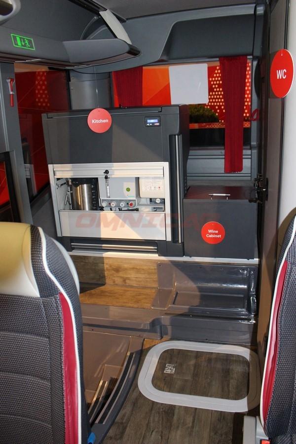 Omnicar Isuzu Bus Visigo Tourismus Version 28+1+1 mit WC und Küche
