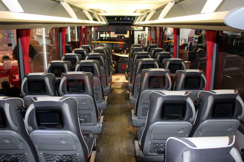 Omnicar Isuzu Bus Visigo Tourismus Version 28+1+1 mit WC und Kuchen