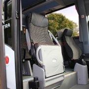 Isuzu Bus Novo Fahrersitz Einstellbar, Luftfederung -Reiseleitersitz Omnicar (1)
