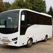 Isuzu Bus Novo Ultra Doppelverglasung getönt Omnicar GmbH