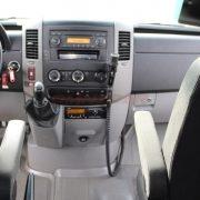 Kleinbus Mercedes Sprinter Transfer 23 Sitze Klima Telma 2012 Elektrische Schiebetüre