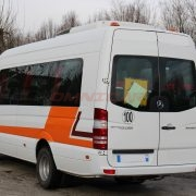 Kleinbus Mercedes Sprinter Transfer 23 Sitze Klima Telma 2011 elektr. Schiebetüre