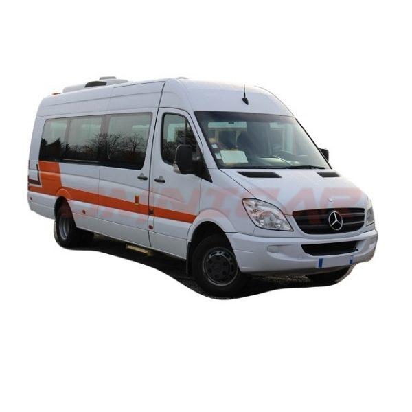 Kleinbus Mercedes Sprinter Transfer 23 Sitze Klima Telma 2011