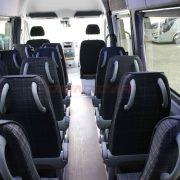 MB sprinter 516 automatique 22+chauffeur avec climatisations porte coulissante électrique
