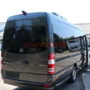 Kleinbus 24 sitze extra lang 190PS Automatik-Getriebe Silber metallic (1)
