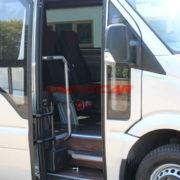 Minibus de tourisme Mercedes argent métallique 516 CDI 22+1 Places