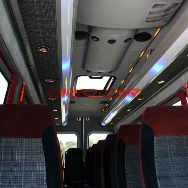 Neuer Kleinbus Minibus Mercedes Sprinter 516CDI MixTourismus 23 Plätze (1)