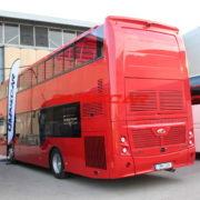 Bus panoramiques à double étage Open top cabriolet toit amovible en bâche basculant