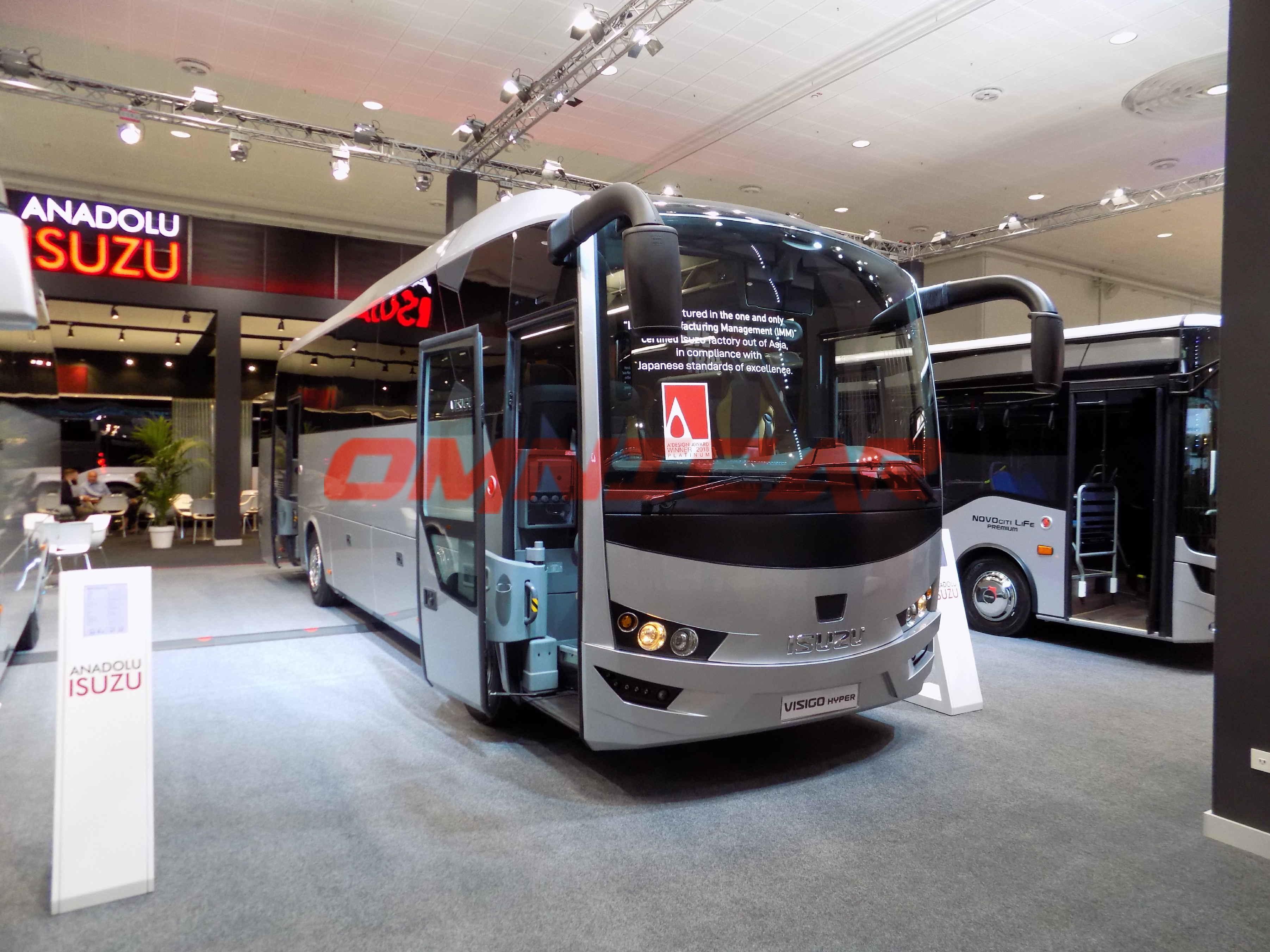 Omnicar Visigo VIP - WC Kuchen 28 Sitze IAA-2018 Isuzu Bus